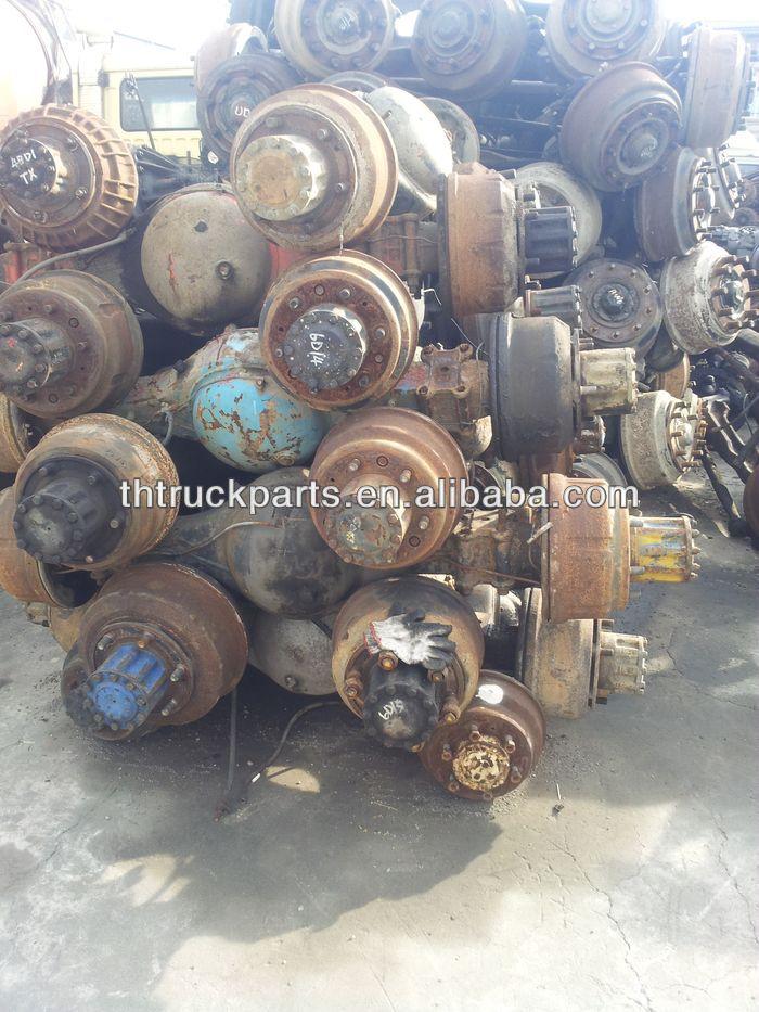 Used truck rear Axles