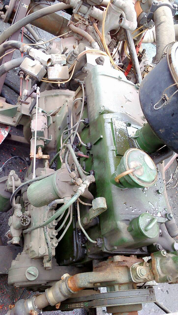 Used Truck Engine Benz 352
