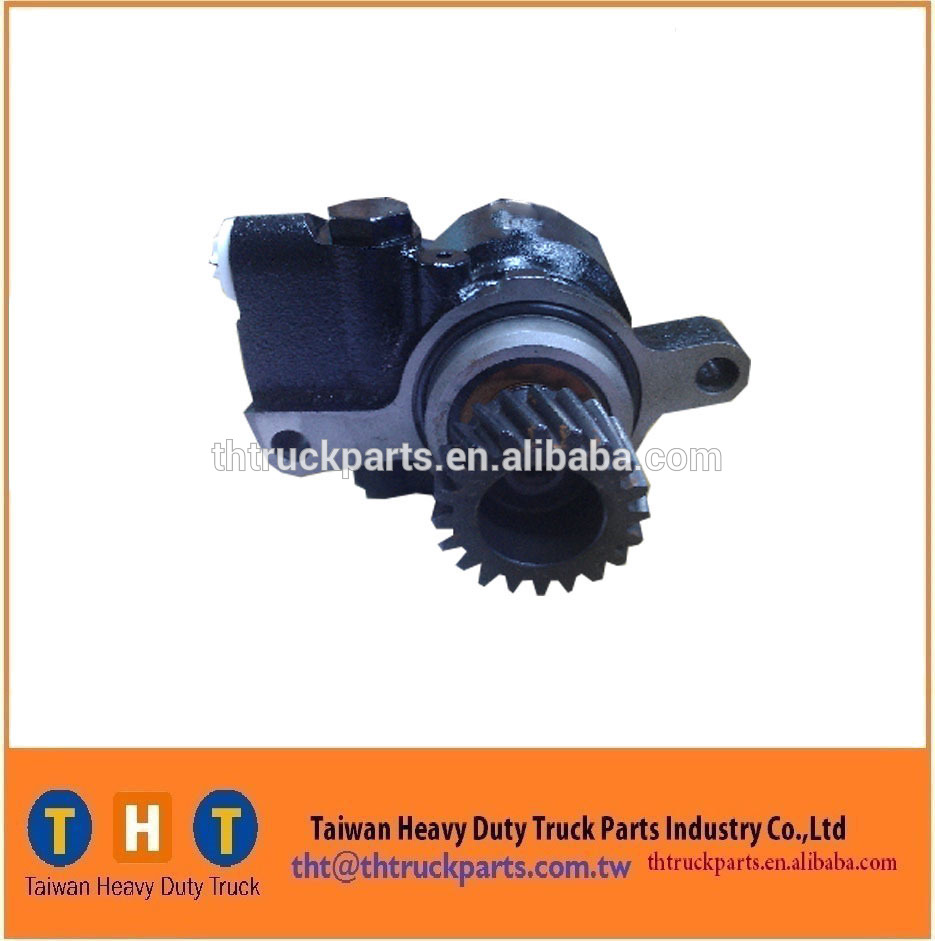 heavy truck power steering pump 44350-1341 for hino JO8C/11T 130B